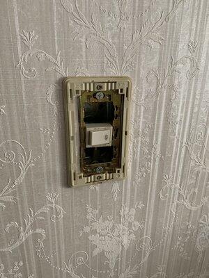 スイッチが壊れた!